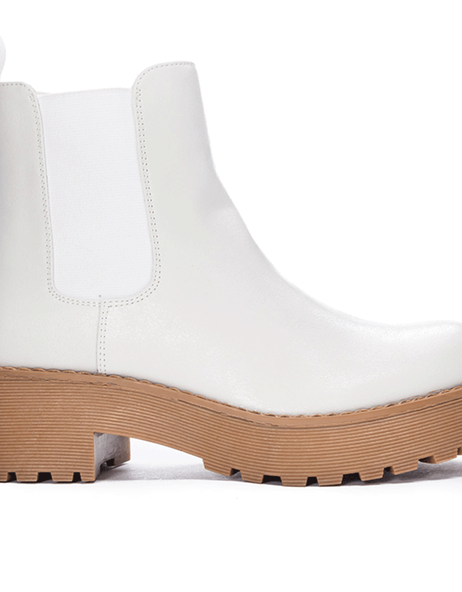 Miss Bliss Maps Bootie- Ivory