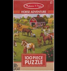 Melissa & Doug 100 Piece Puzzle Horse Adventures