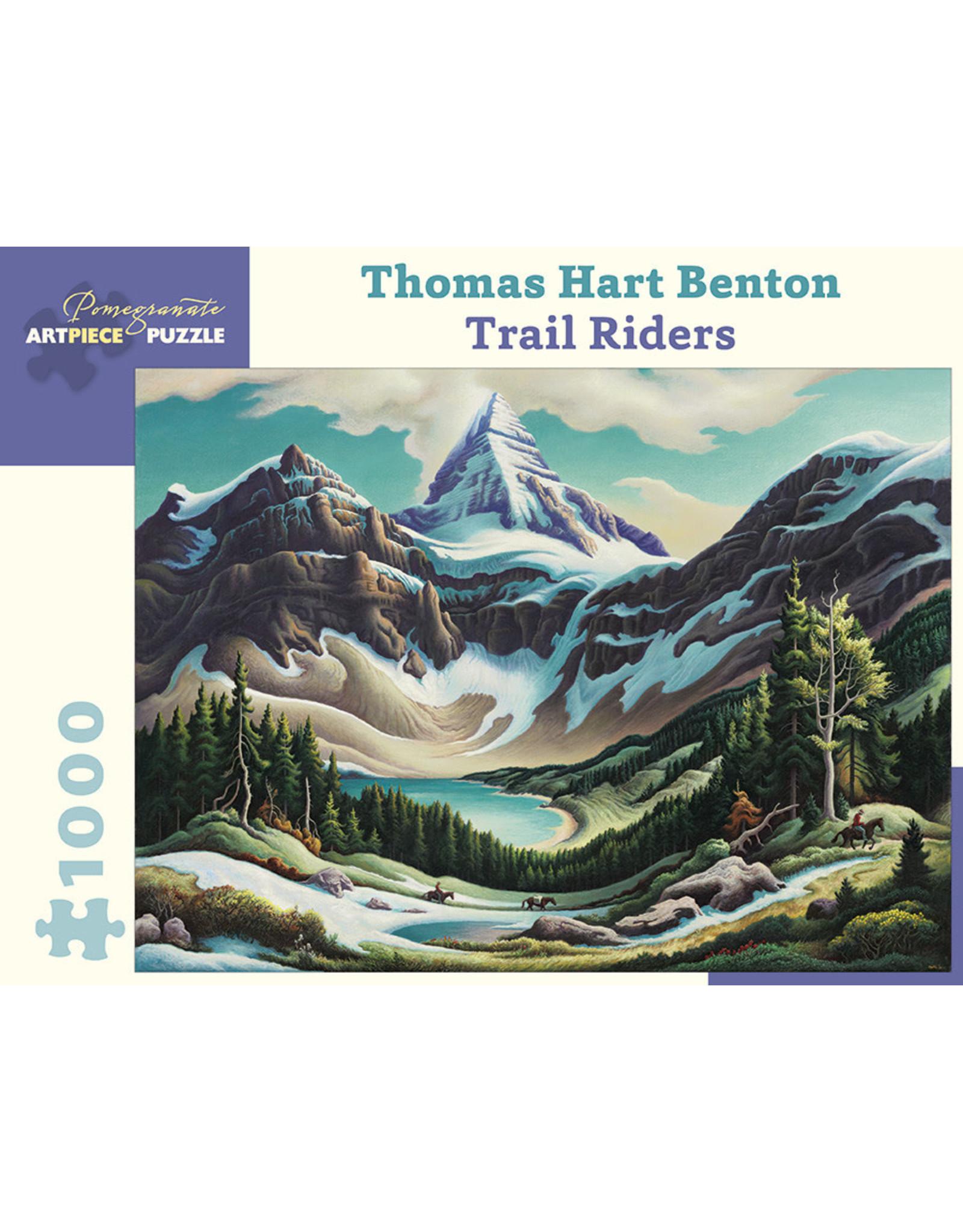 Pomegranate 1000 piece Trail Riders