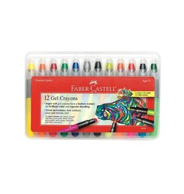 Faber Castell 12 Gel Crayons