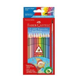 Faber Castell 12 Grip Watercolor EcoPencils