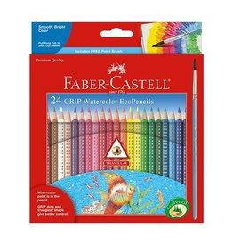 Faber Castell 24 Grip Watercolor Pencils