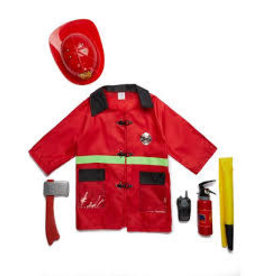 Small World Toys Dress up Fire Fighter