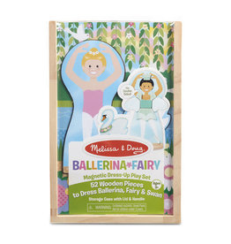 Melissa & Doug Ballerina and Fairy Magnetic Dress-Up Play Set