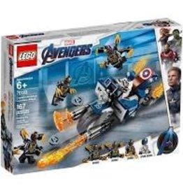 Lego Captain America: Outriders Attack 76123