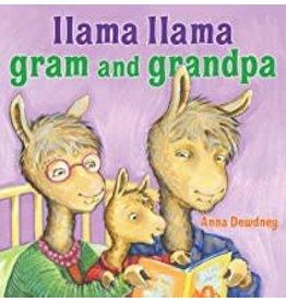 Anne McGilvray & Company LLAMA LLAMA GRAM AND GRANDPA
