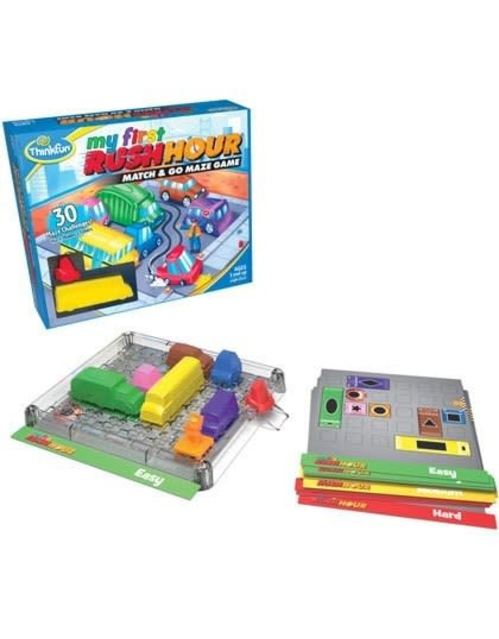 Thinkfun My First Rush Hour Match and Go Maze Game
