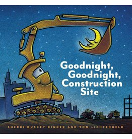 Chronicle Goodnight, Goodnight, Construction Site hb