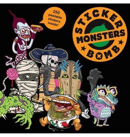 Laurence King Stickerbomb Monsters