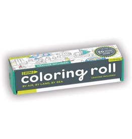 Mudpuppy By Air, By Land, By Sea Mini Coloring Roll