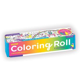 Mudpuppy Unicorn Magic Mini Coloring Roll