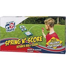 Toysmith Spring N Score Bounce Game