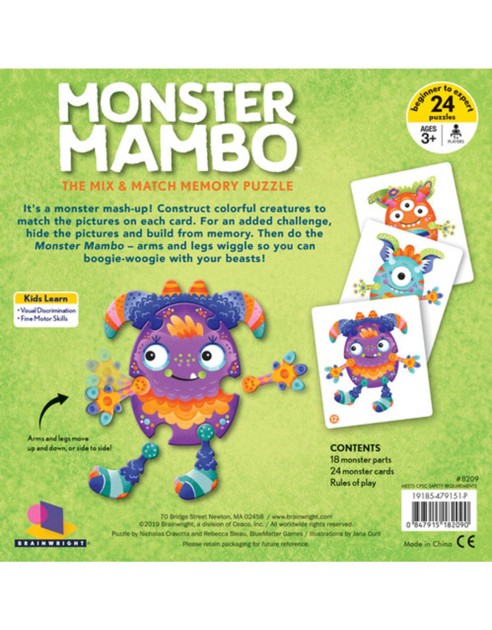 Brainwright Monster Mambo