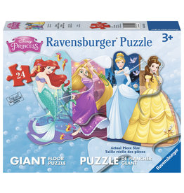 Ravensburger Pretty Princesses (24 pc Shaped Floor)