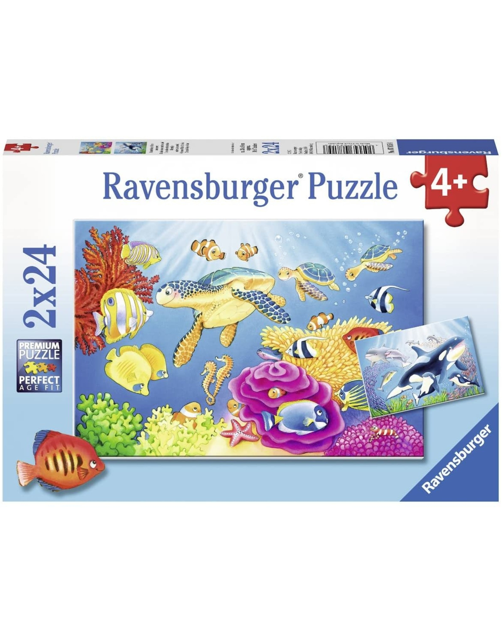 Ravensburger Vibrance Under the Sea (2x24)