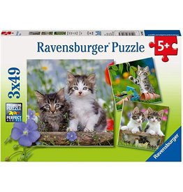 Ravensburger Kittens (3x49 pc)