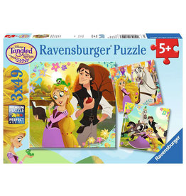 Ravensburger Tangled: Hair & Now (3 x 49 pc)
