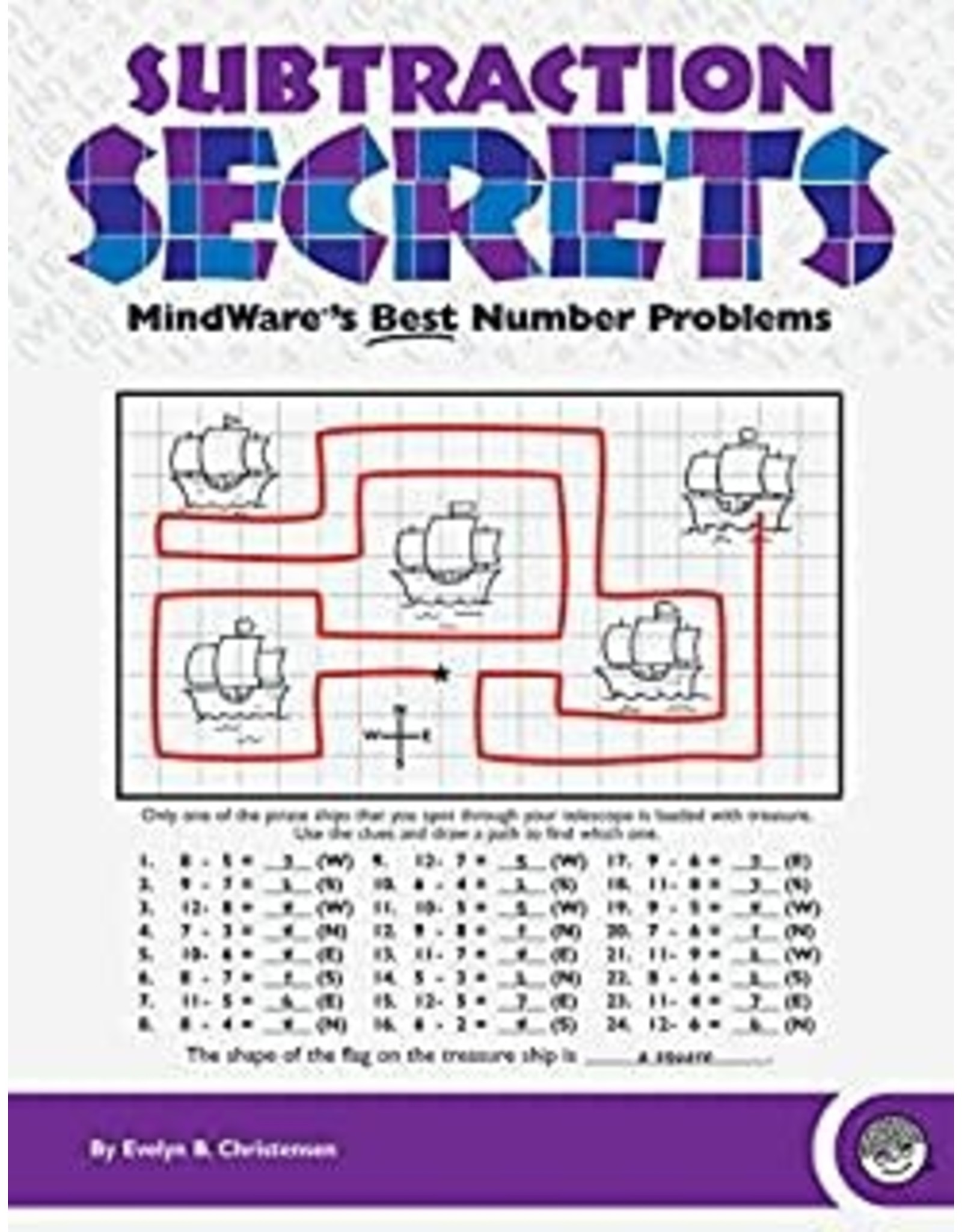 Mindware MATH MOSAICS: SUBTRACTION SECRETS