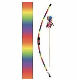 Two Bros Bows Rainbow Bow, 2 rainbow arrows, 1 target