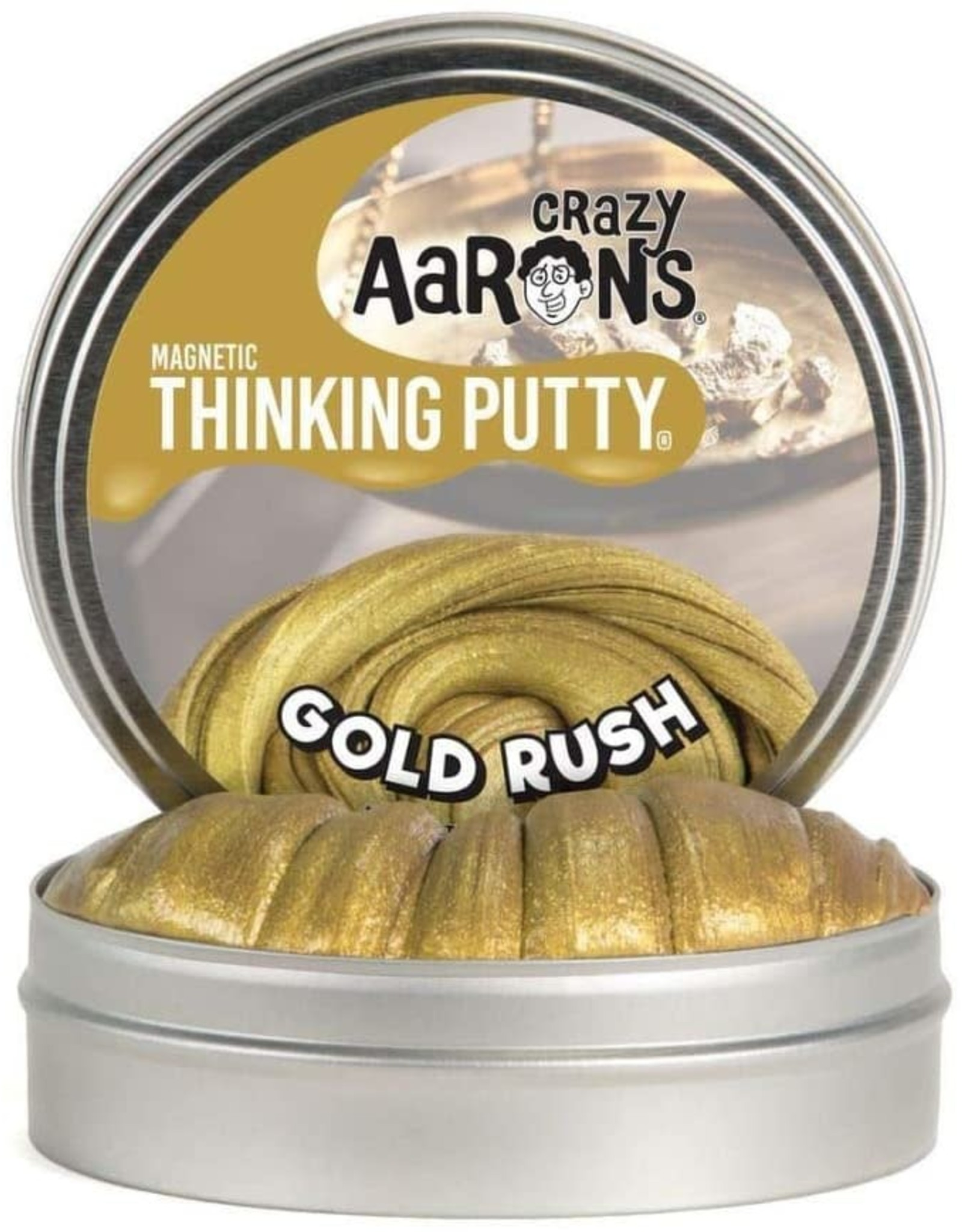 Crazy Aarons Gold Rush Thinking Putty