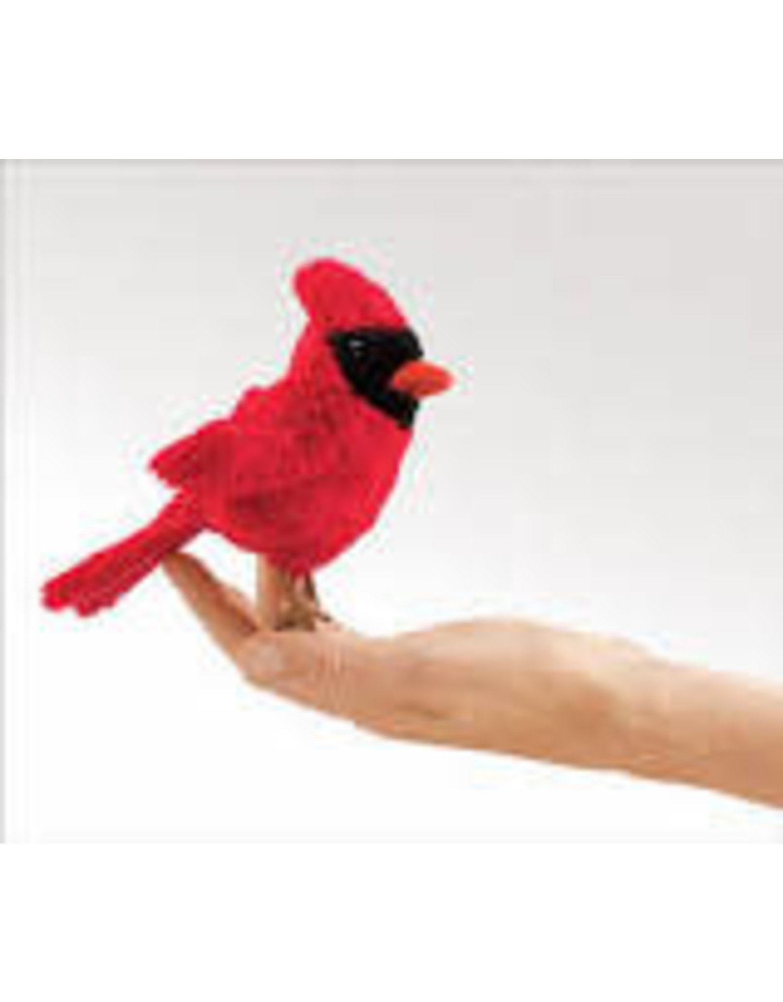 Folkmanis Mini Cardinal puppet