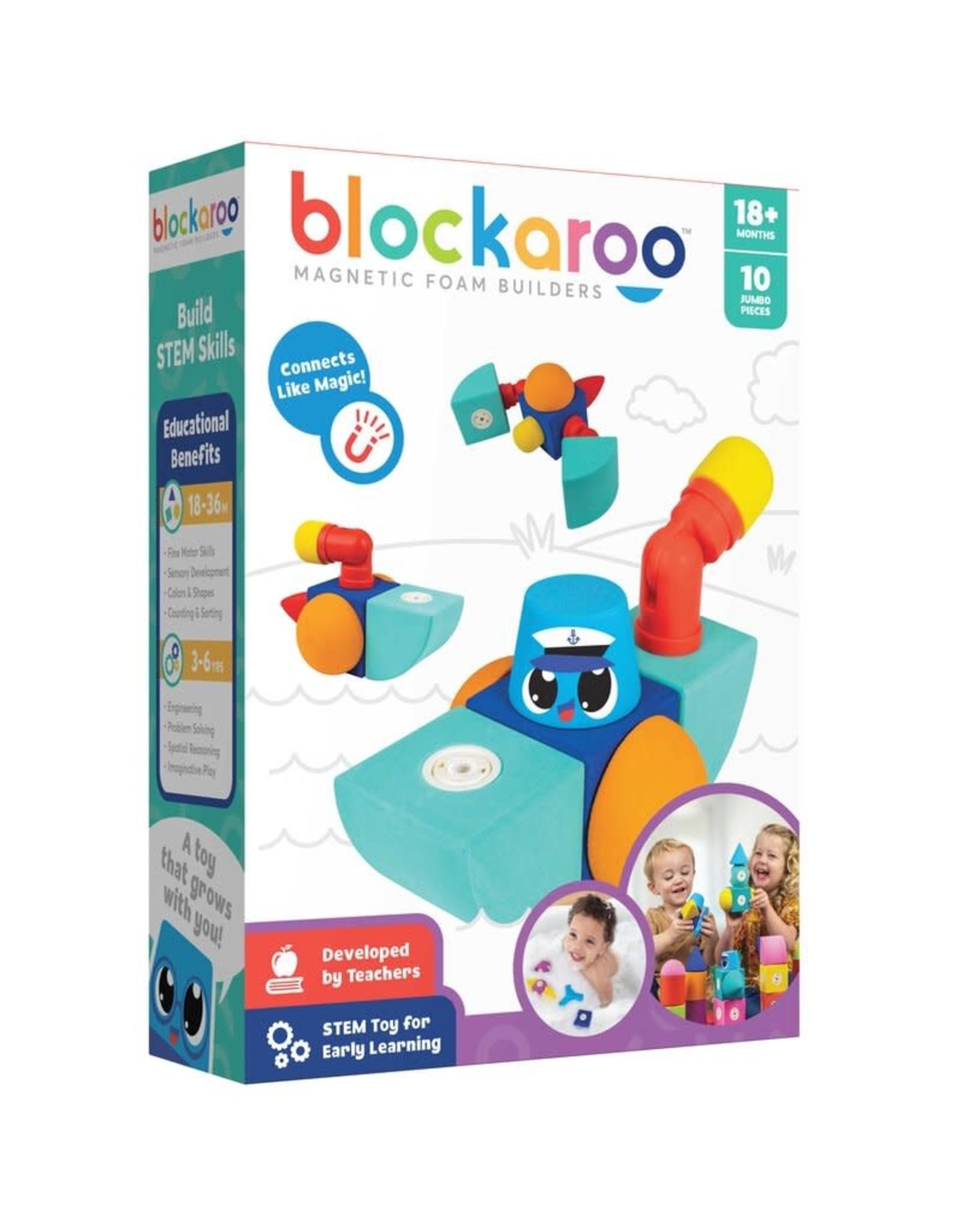 Blockaroo Blockaroo Boat ( 10 Pieces)