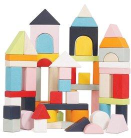 Petilou Building Blocks and Bag (60 pc)