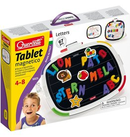 Quercetti Tablet w/Magnetic Letters