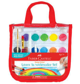 Faber Castell Young Artist Learn to Watercolor Set