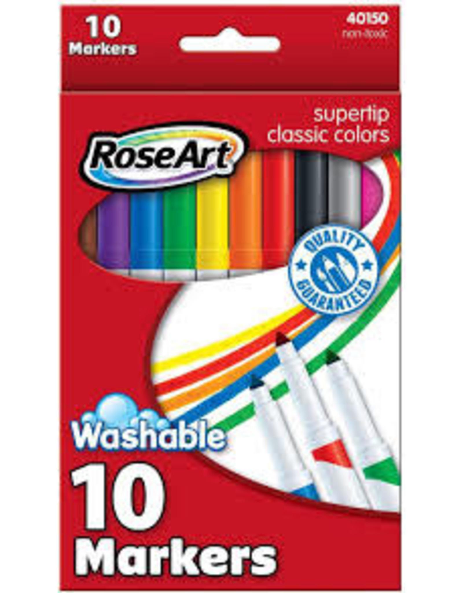 Rose art 10CT CLASSIC SUPER TIP MARKERS