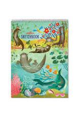 Eeboo Sketchbook Otters at Play