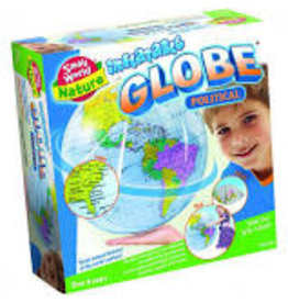 Small World Nature Inflatable Globe Political