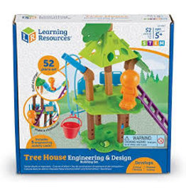 Learning Resources Engineering and Design Building Set Tree House