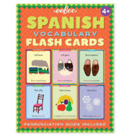 Eeboo Spanish Vocabulary Flash Cards