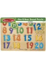 Melissa & Doug M&D See & Hear Numbers Puzzle