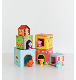 Djeco Topanifarm Stacking Toy