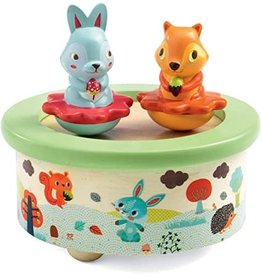 Djeco Friends Melody Wooden Music Box