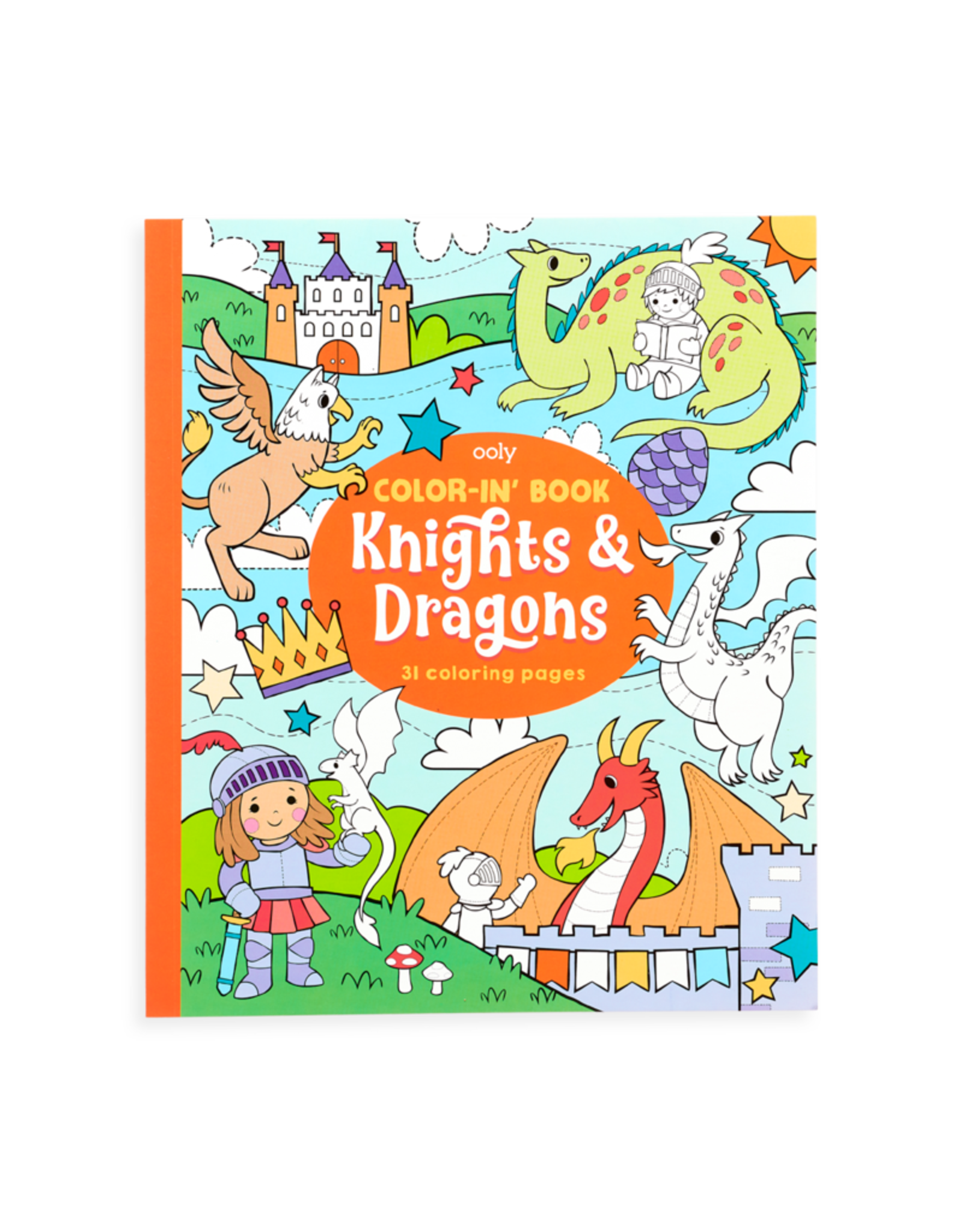 Ooly Ooly Coloring Books