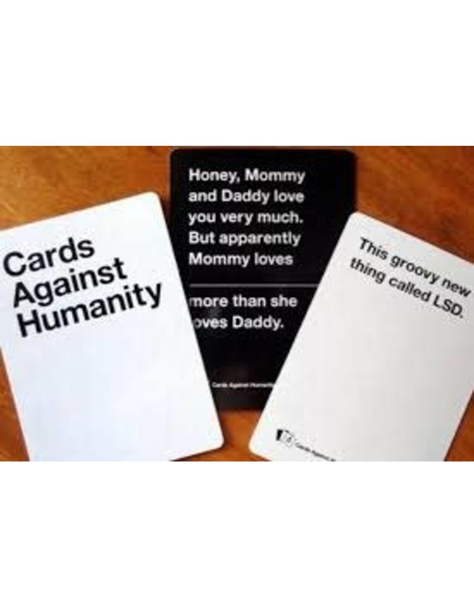 KICKSTARTER CARDS AGAINST HUMANITY