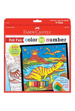Faber Castell Foil Fun Color by Number T-Rex