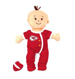 Masterpiece Kansas City Chiefs Wee Baby Fan Doll