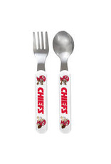 Masterpiece Kansas City Chiefs Fork & Spoon Set