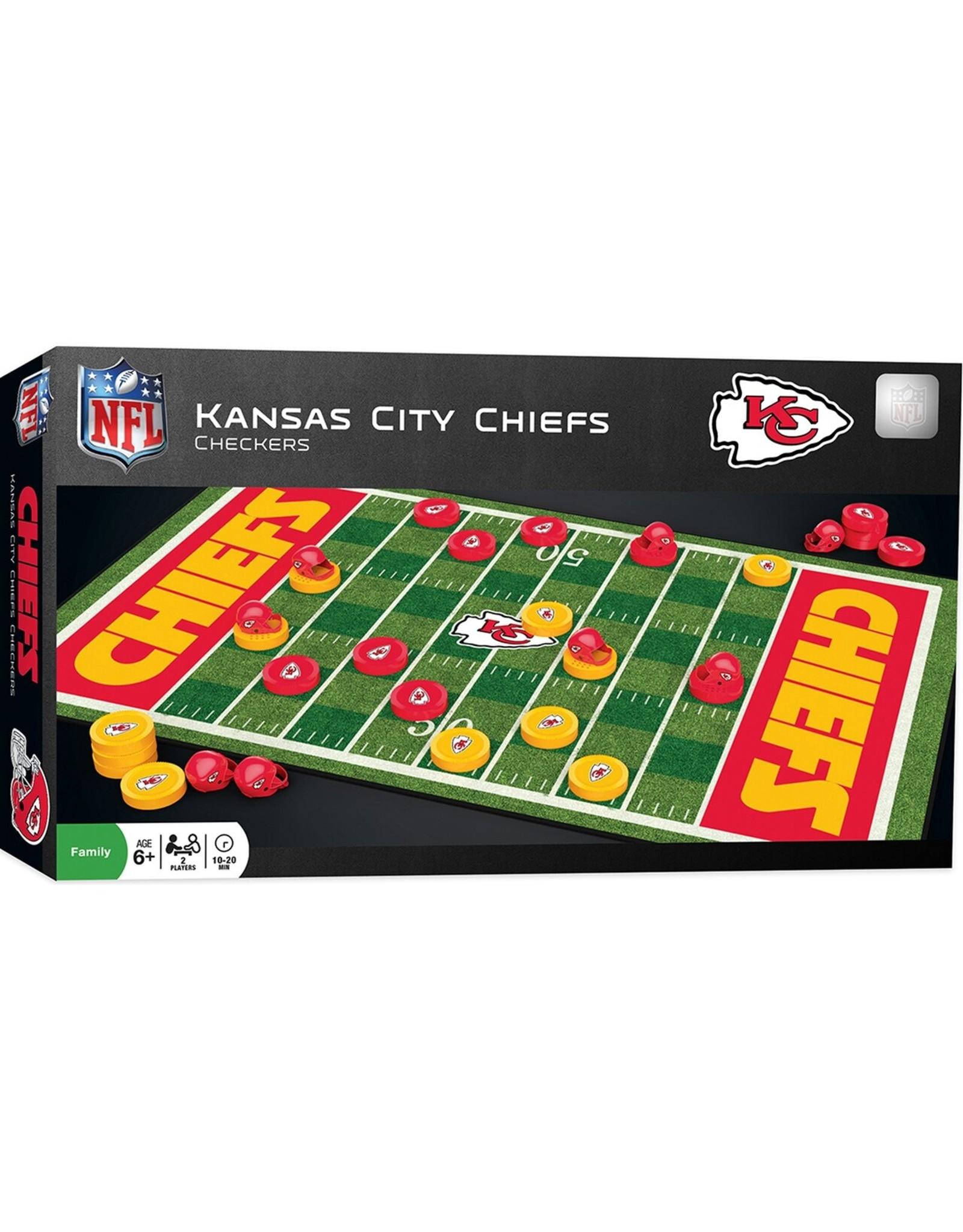 Masterpiece Kansas City Chiefs Checkers