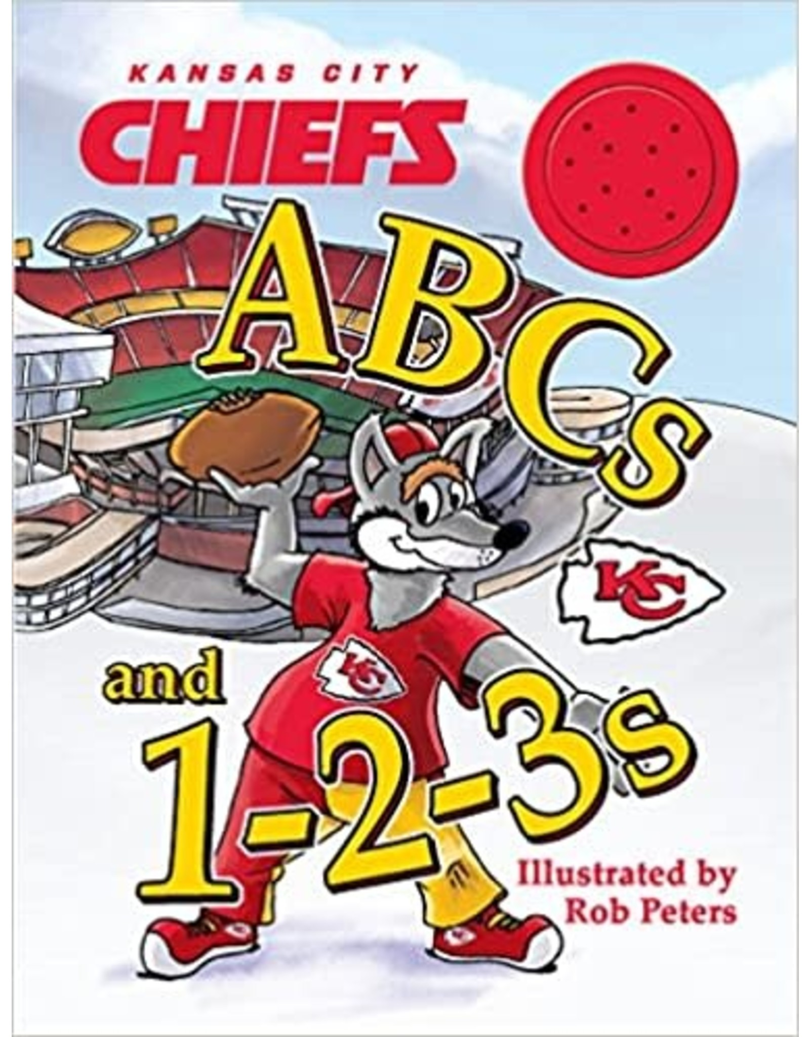 Ascend Books Kansas City Chiefs ABCs and 1-2-3's