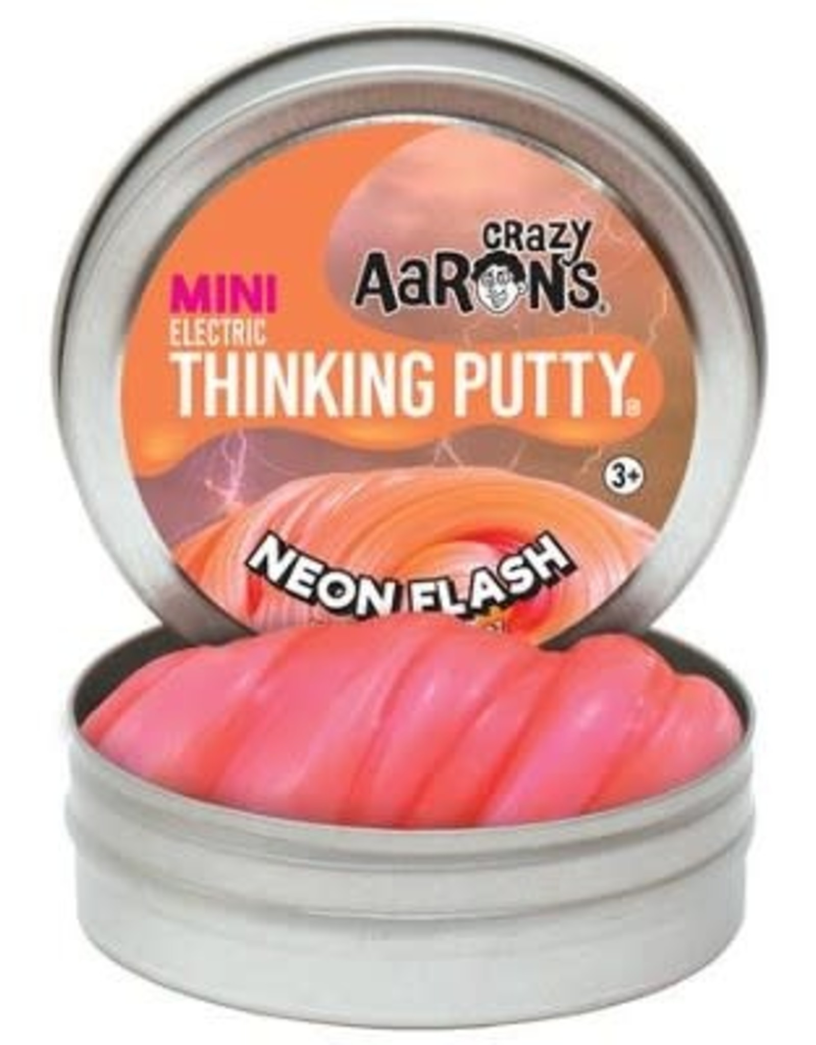 Crazy Aarons Neon Flash Mini Thinking Putty