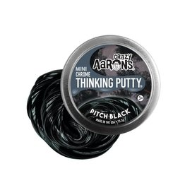 Crazy Aarons Pitch Black Mini Thinking Putty
