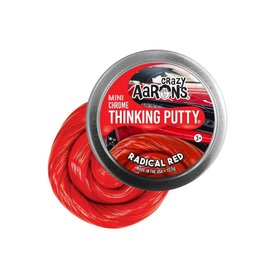 Crazy Aarons Radical Red Mini Thinking Putty