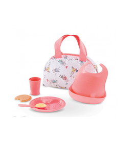 """Corolle Mealtime Set for 14/17"""" baby doll"""