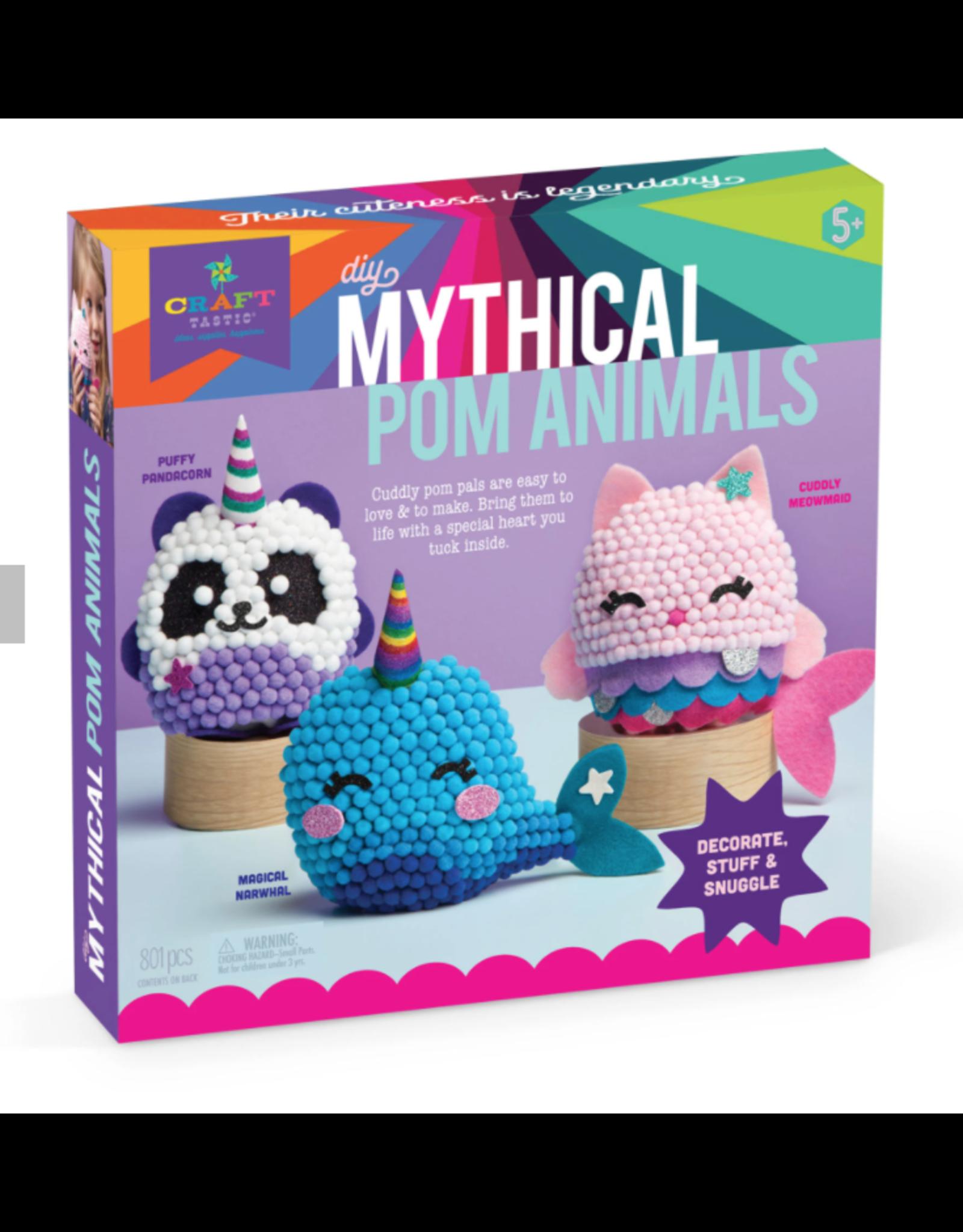 Craft Tastic DIY Mythical Pom Animals
