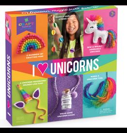 Craft Tastic I Love Unicorns Kit
